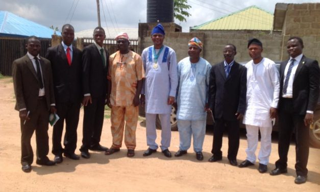 INAUGURATION OF NIAE OSOGBO CHAPTER